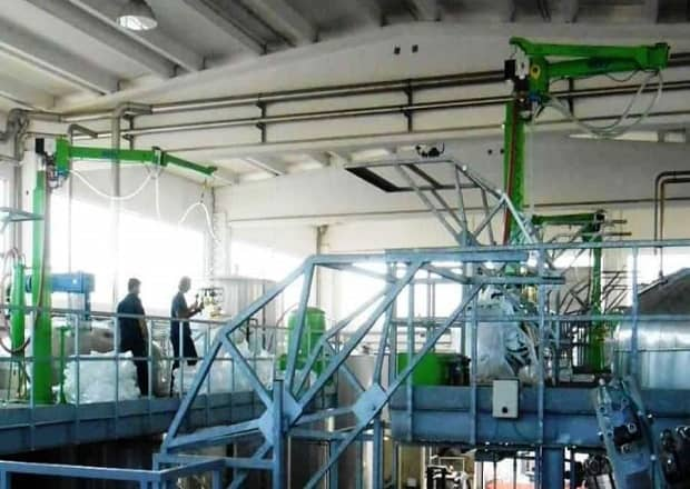 LIFTING BAGS IN CHEMICAL INDUSTRY