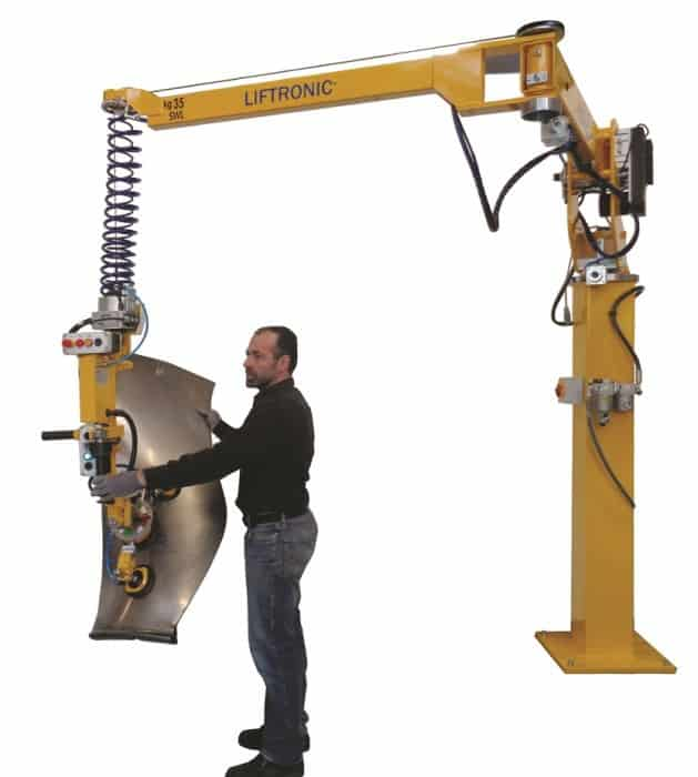 intelligent lift assist device for aerospace