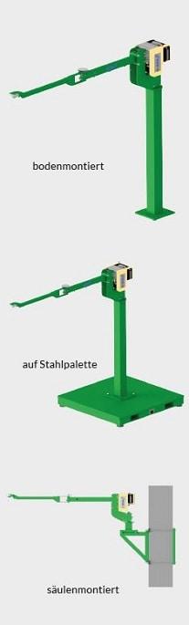 Säule + Arm