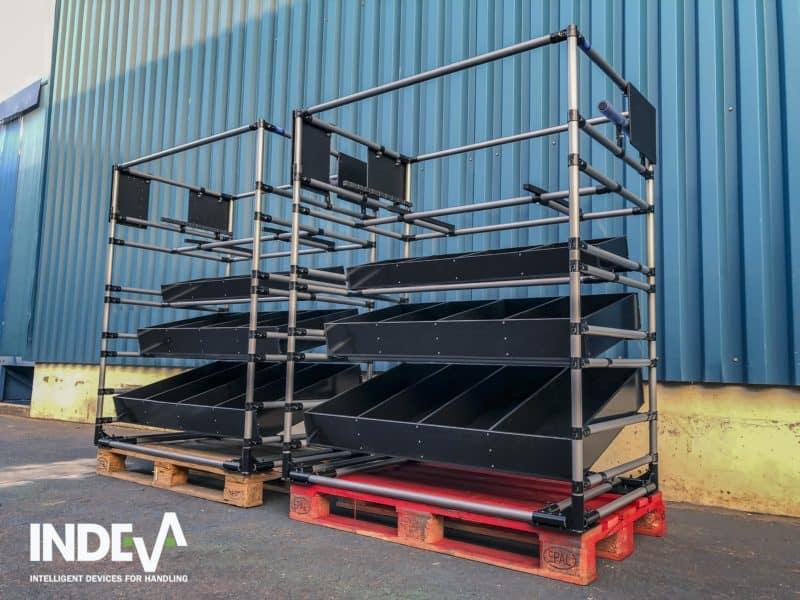 Супермаркет на площадке промышленного производства - это место, где хранится заранее установленный стандартный запас расходных материалов для снабжения процессов сборки.