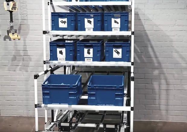 Kombinierte Arbeitsstation mit Shooter-Wagen