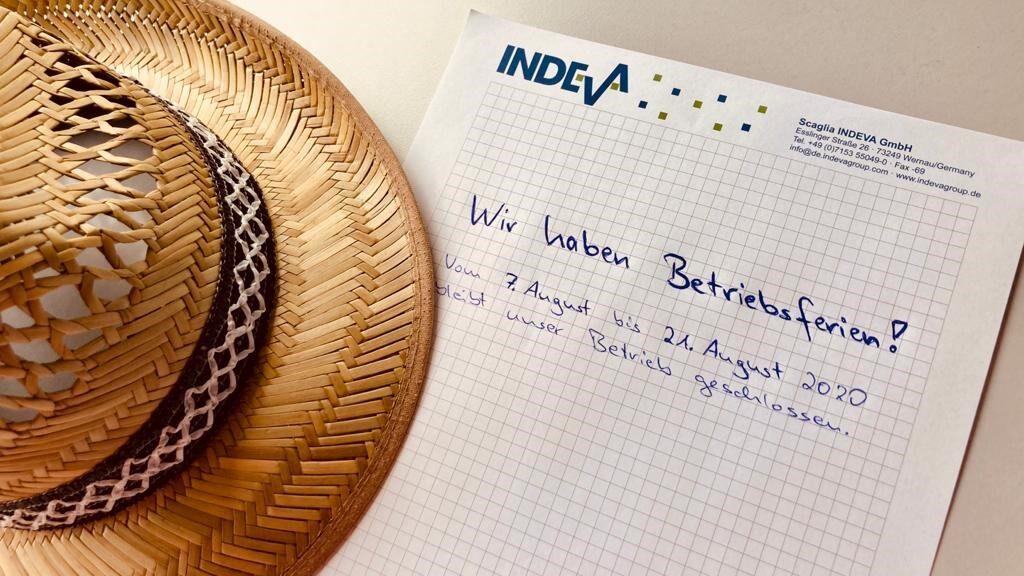 Betriesferien Sommer 2020 Scaglia Indeva GmbH