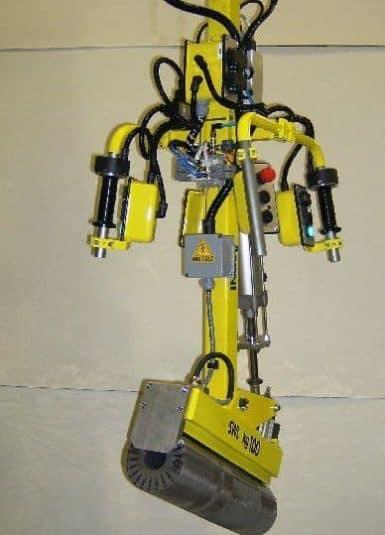 Handhabung von E-Motoren Komponenten