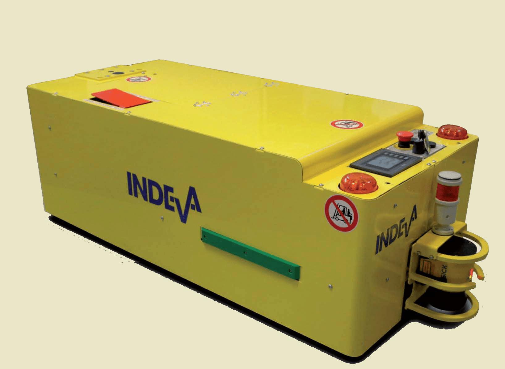 agv.indeva-tunnel - Fahrerlose Transportfahrzeuge