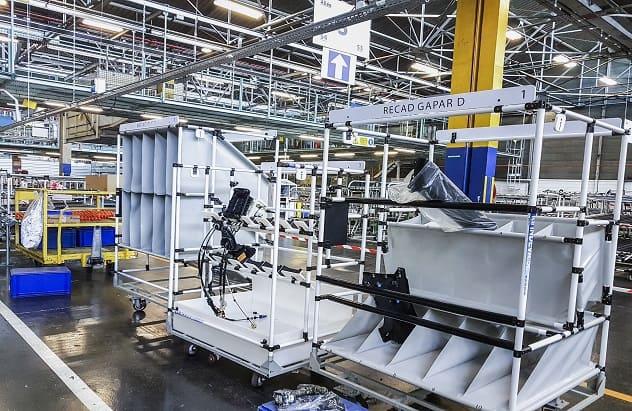 Indeva Lean System zur Erhöhung der Ergonomie und Sicherheit in Produktionsprozessen