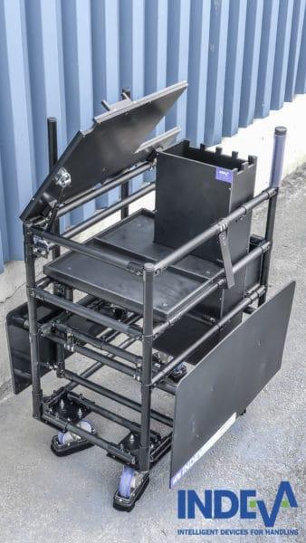 Montage-Set-Trolleys
