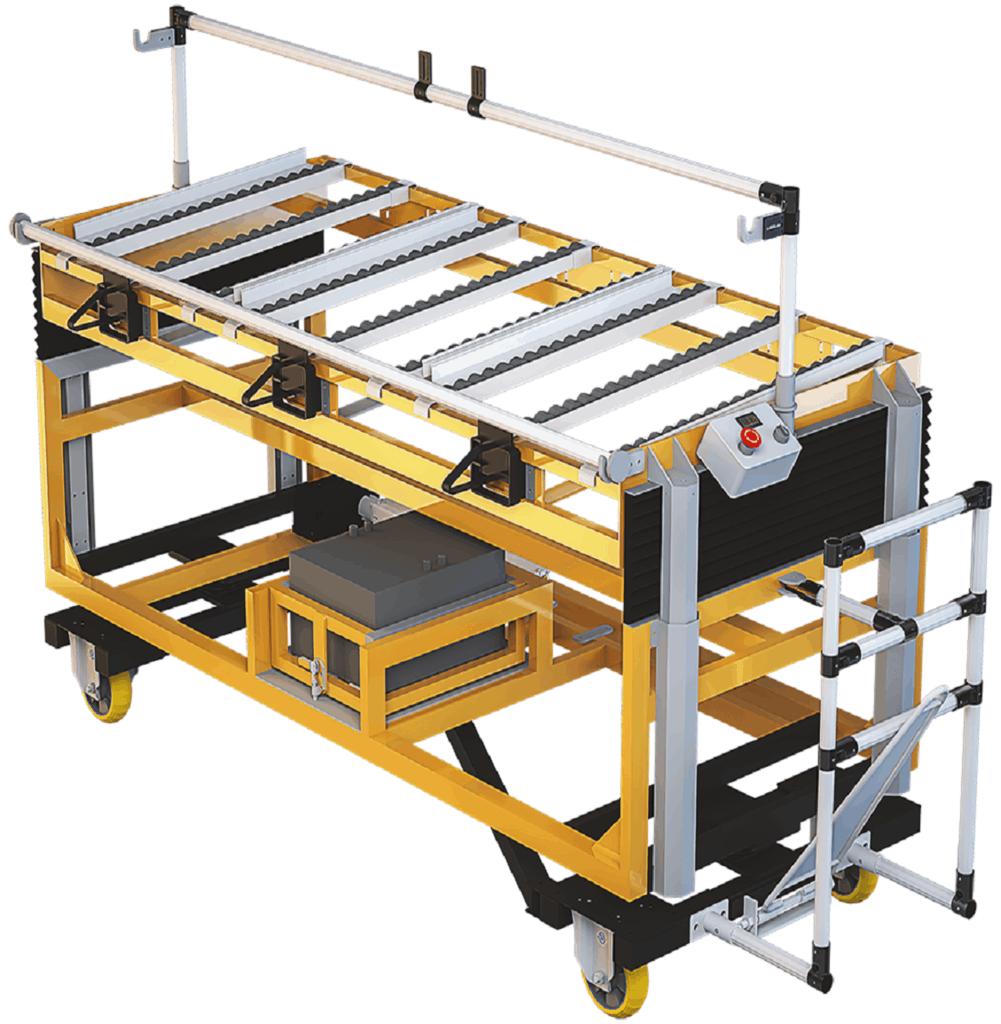 Modularen Rollwagen